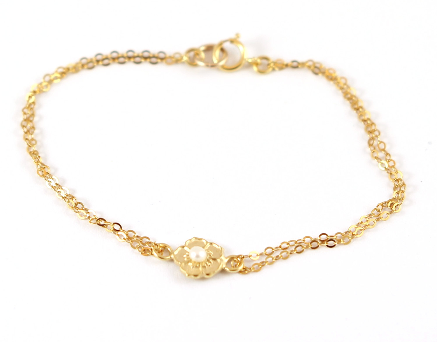 gold jewellery product circle minettajewellery bracelet by delicate minetta original